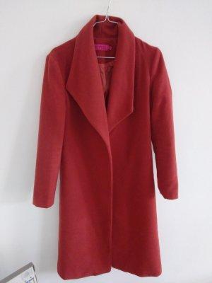 Boohoo Abito cappotto salmone-rosso chiaro