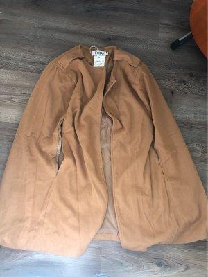 Chaqueta cruzada marrón