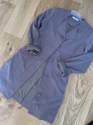 100% Fashion Trenchcoat vert olive