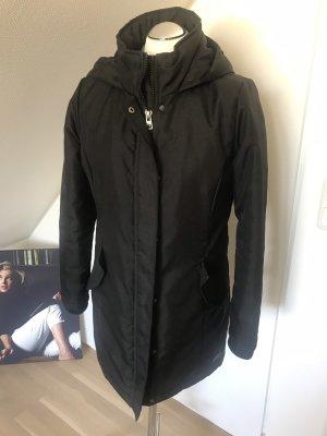 Only Manteau à capuche noir