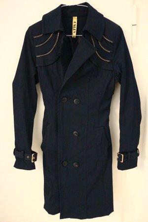 Osley Winter Coat dark blue polyester