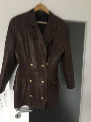 Otto Kern Short Coat dark brown