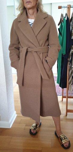 mantel oversized, camel