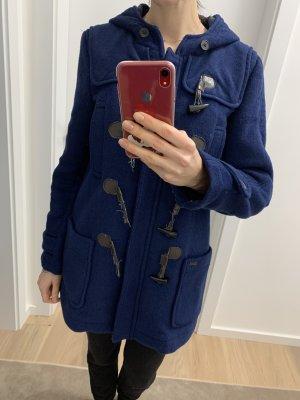 Pepe Jeans London Manteau à capuche bleu foncé