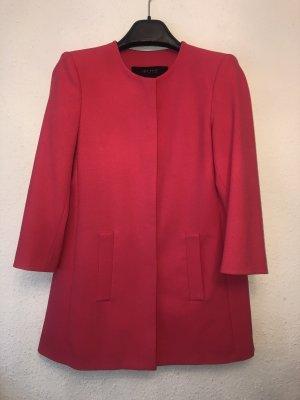 Mantel pink mit 7/8-Ärmeln von Zara