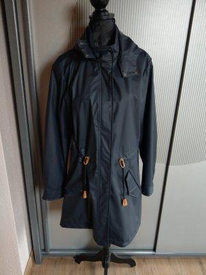 Soyaconcept Manteau de pluie bleu foncé