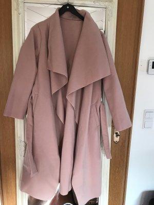 Oversized jas roze