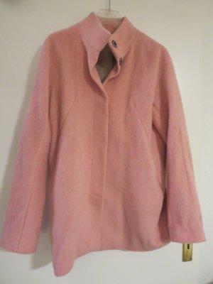 Esprit Abrigo de lana rosa Lana