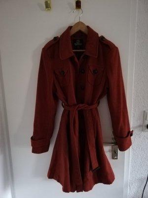 Mantel rostrot