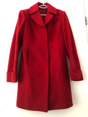 Benetton Wool Coat red