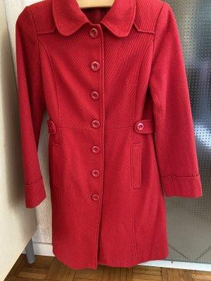 H&M Manteau d'hiver rouge