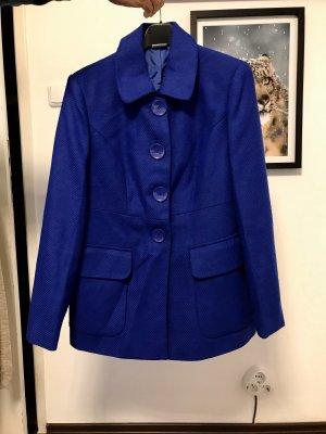 Mantel Royalblau Neu mit Etikett