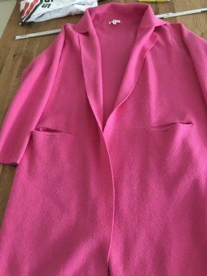 kilky Cappotto a maglia rosa