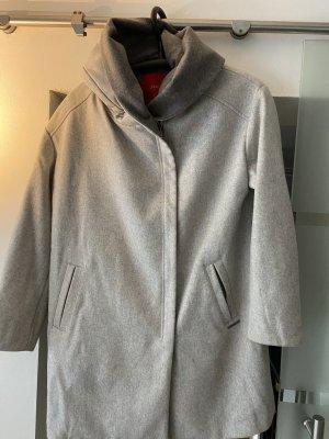 s.Oliver Cappotto con cappuccio grigio chiaro-beige chiaro