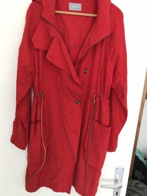 Samsøe & samsøe Manteau à capuche rouge-rouge brique