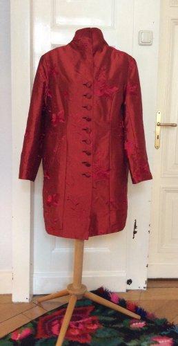 Viva la Diva Short Coat brick red mixture fibre