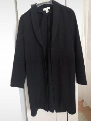 H&M Cappotto stile pilota nero