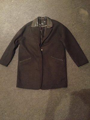Mantel schwarz Gr. 36
