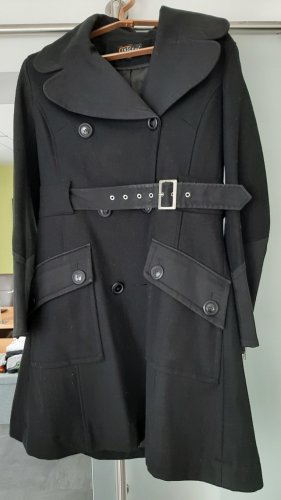 Mantel Schwarz Gr. 40