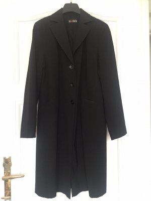 Classic Between-Seasons-Coat black wool