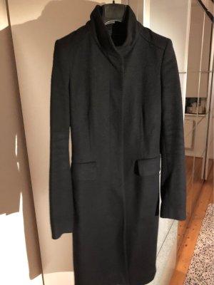 Mantel Schwarz S 36/38 Zara 100% Wolle