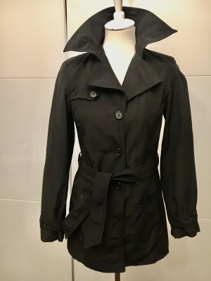 Sisley Heavy Raincoat black