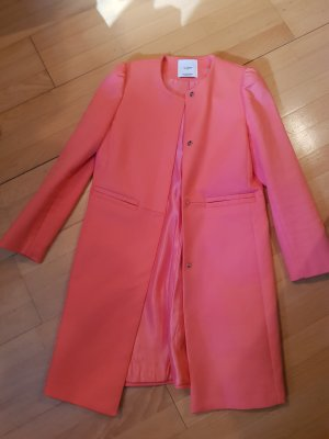 Mango Robe manteau rose