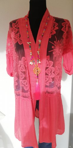 Made in Italy Blouse longue saumon
