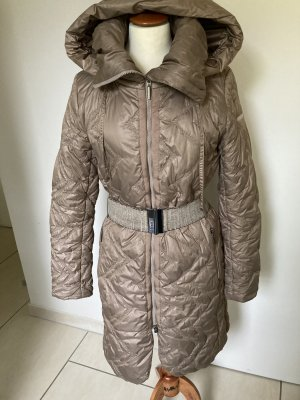 Airfield Manteau à capuche chameau polyester