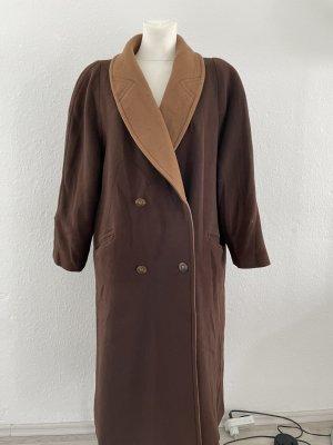 Mantel Teddy coat gr 44 braun