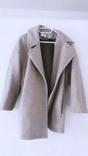 Mantel Trenchcoat beige Zara in Größe M oversized