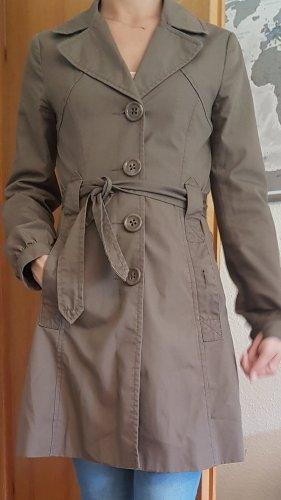 Mantel Trenchcoat Übergangsjacke  Beige 34 xs h&m