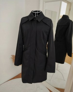 H&M Long Jacket black-silver-colored