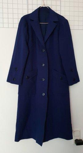 True Vintage Oversized Coat blue-dark blue viscose