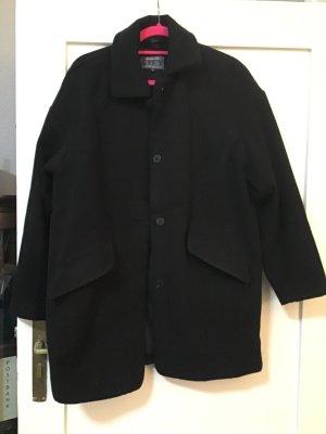 Mantel Übergangsmantel  in schwarz