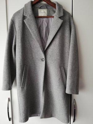 Selected Femme Chaqueta holgada gris claro