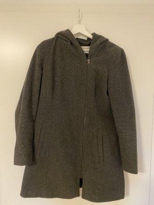 Vero Moda Cappotto con cappuccio grigio scuro