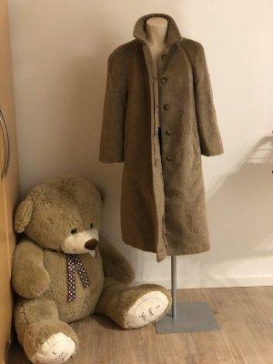 Abrigo de invierno multicolor lana de esquila