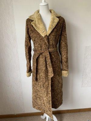 Vintage Gewatteerde jas veelkleurig