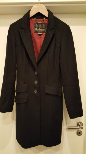 Barbour Manteau en laine multicolore