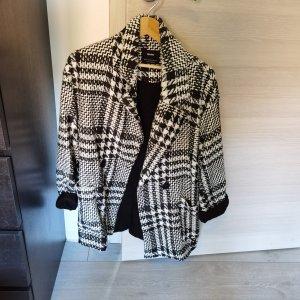 Bershka Krótki płaszcz Wielokolorowy Bawełna