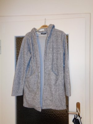 Blind Date Hooded Coat light grey-anthracite polyester