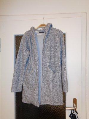 Blind Date Cappotto con cappuccio grigio chiaro-antracite
