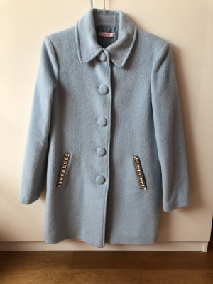 Blugirl Folies Wool Coat azure