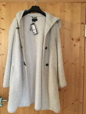 Comma Hooded Coat oatmeal wool