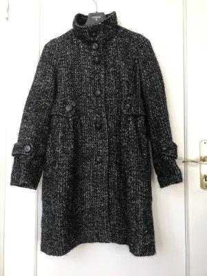 Comptoir des Cotonniers Winter Coat black-white