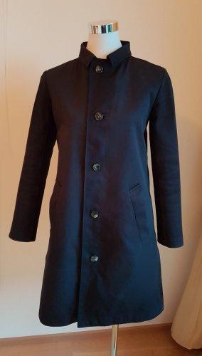 A.P.C. Abrigo de entretiempo azul oscuro Algodón