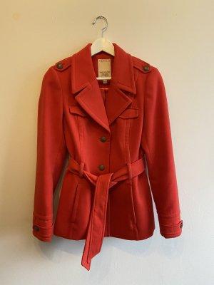 Esprit Short Coat bright red