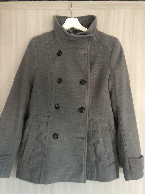 H&M Cappotto in pile grigio