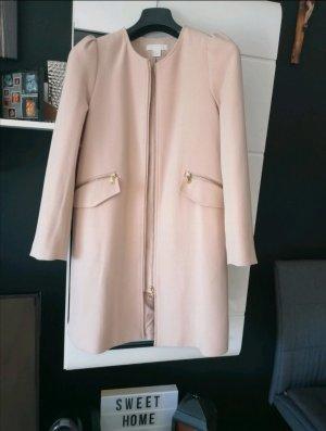 Mantel von H&M, Größe 36, Nude/Neu
